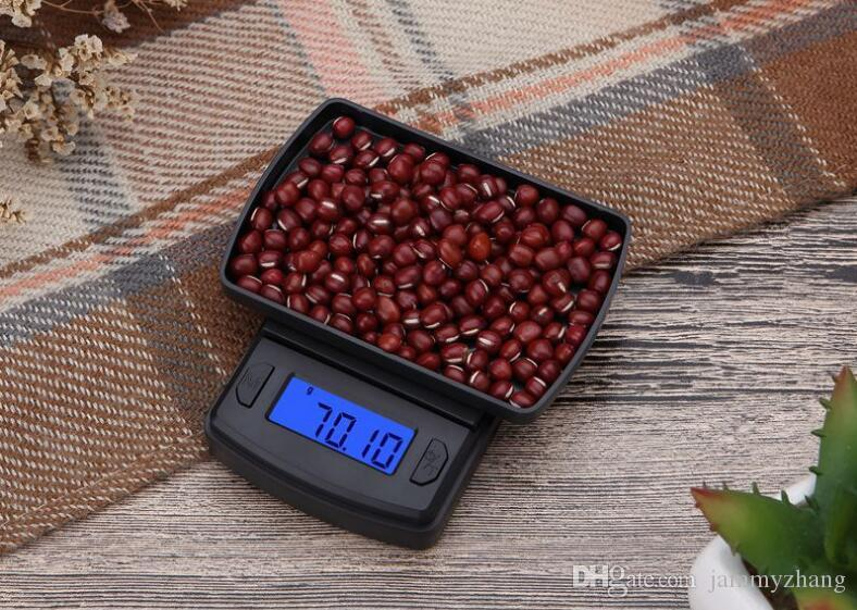 100g 200g 300g 500/0.01g LCD Portable Mini Electronic Digital Scales Pocket Case Postal Jewelry Weight Balance Scale 100Pcs Wholesale