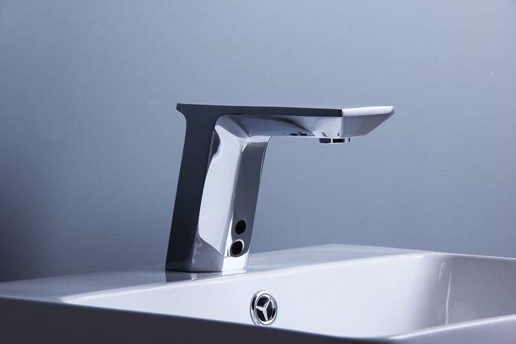 물 절약 Touchless 적외선 자동 수도꼭지 분지의 수도꼭지 센서 Brass Chrome Torneira Mixer Sensor Tap