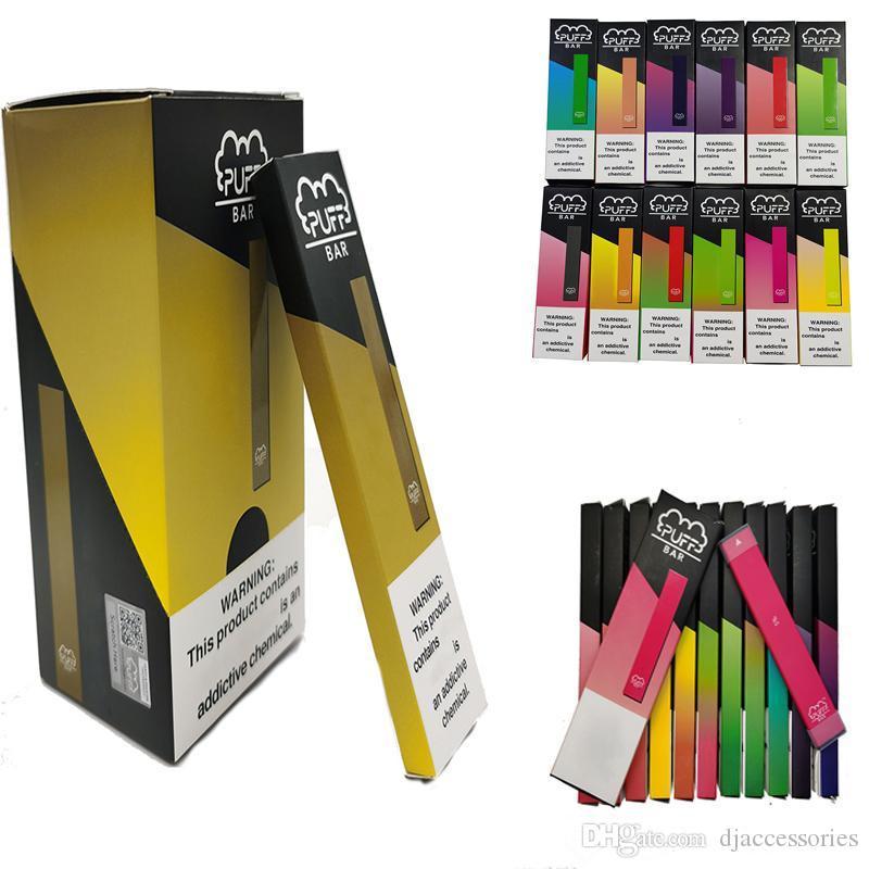 Código de Buena venta soplo Bar desechable Vape pluma con seguridad 280mAh batería recargable de 1,3 ml para no Pod dispositivo con pantalla Box