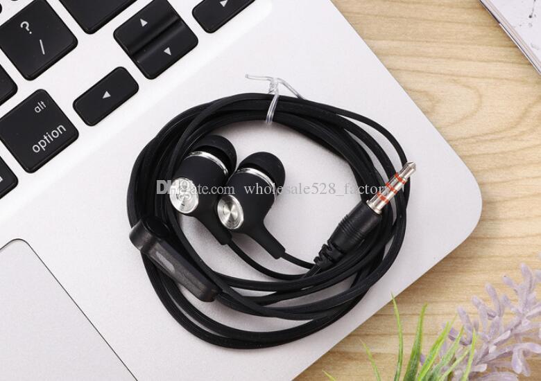 이어폰 마이크와 이어폰 이어 버드 헤드폰 스테레오 헤드셋 뜨거운 인기 SF-A64 이어폰 핸즈프리 유니버설 3.5MM 6U 스피커