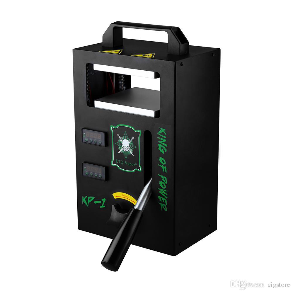 Аутентичная Канифоль DAB пресс машины КП-1 КП-2 LTQ Vapor 4tons давление на зажим температура регулируемого отопления Портативного Извлечение инструмент Kit