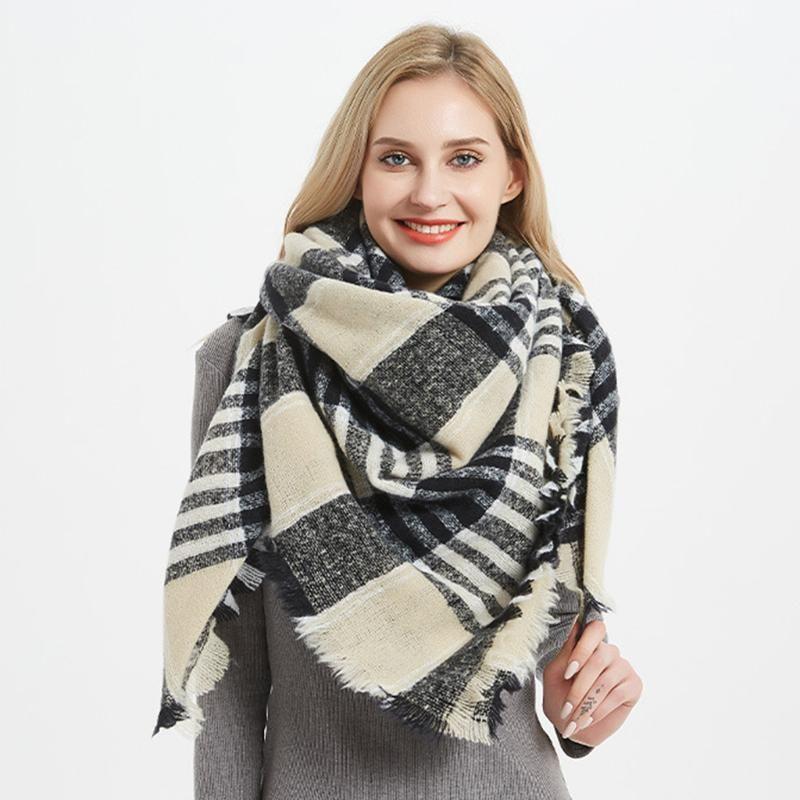 الشتاء أزياء النساء العباءات بطانية للمرأة شالات كبيرة والأغطية سيدة الأغطية 2019
