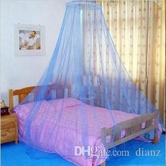 Venda quente de verão! Boa rede de mosquito elegante graciosa de sono do dossel da rede da cortina da cama do sono