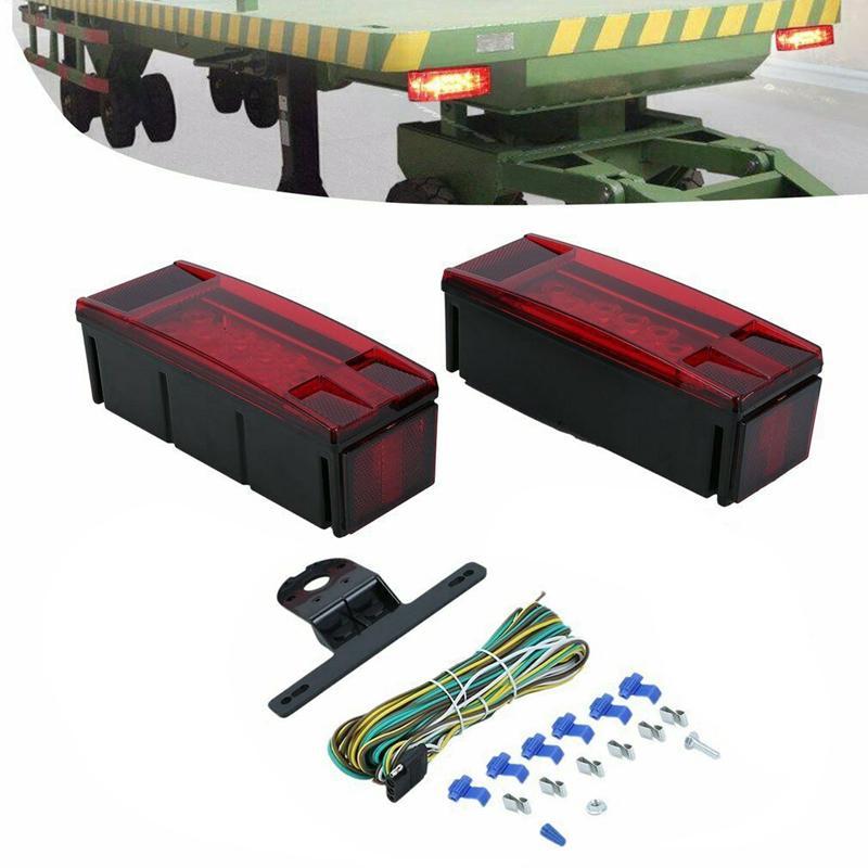 LED 수중 트레일러 테일 라이트 키트에서 80 인치 보트 트레일러 W / WireBracket