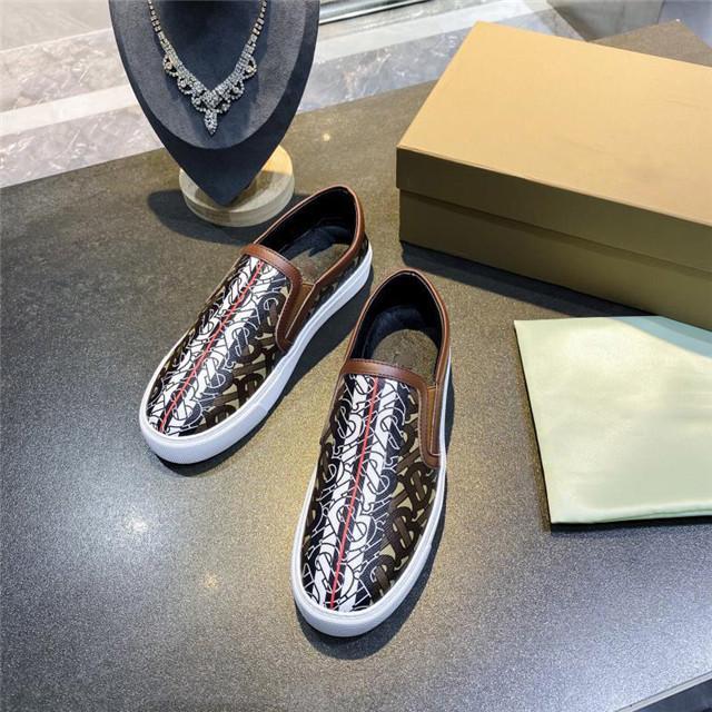 Bvlgari 2020 xshfbcl luxe mode bas-top nouvelles chaussures de planche à roulettes garniture en cuir italien tanné et chaussures élastiques occasionnels de côté