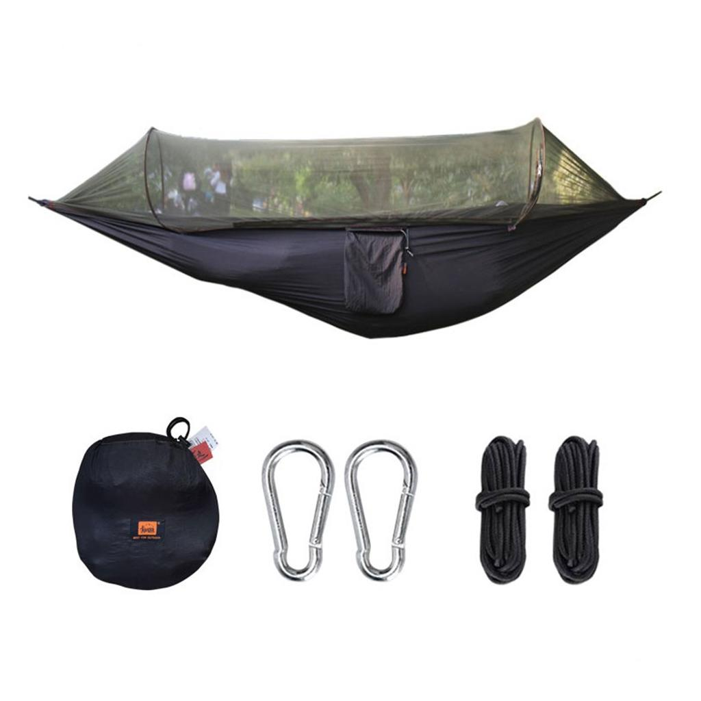 Campeggio esterno zanzariera Ultralight Hammock portatile della tenda poltrona pensile Bed Altalena per i viaggi da picnic alpinismo tende e ripari