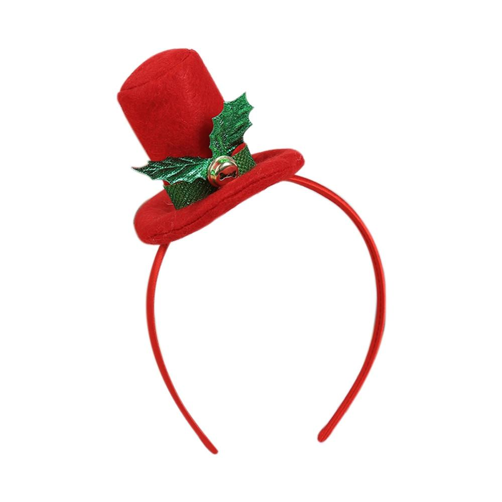 Natale decorazioni per la casa calda fascia del partito Babbo Natale di natale Decor doppio Fascia per capelli chiusura della testa del cerchio di natale Decorazioni di Natale Deco