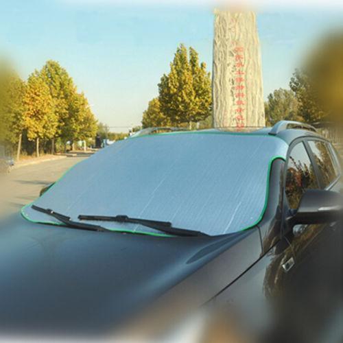Ba30DEllylelly Cubierta de la Visera del Parabrisas del Coche Protecci/ón UV Anti Hielo Nieve Frost Shield Protecci/ón contra el Polvo Parasol para el Parabrisas Delantero del Coche