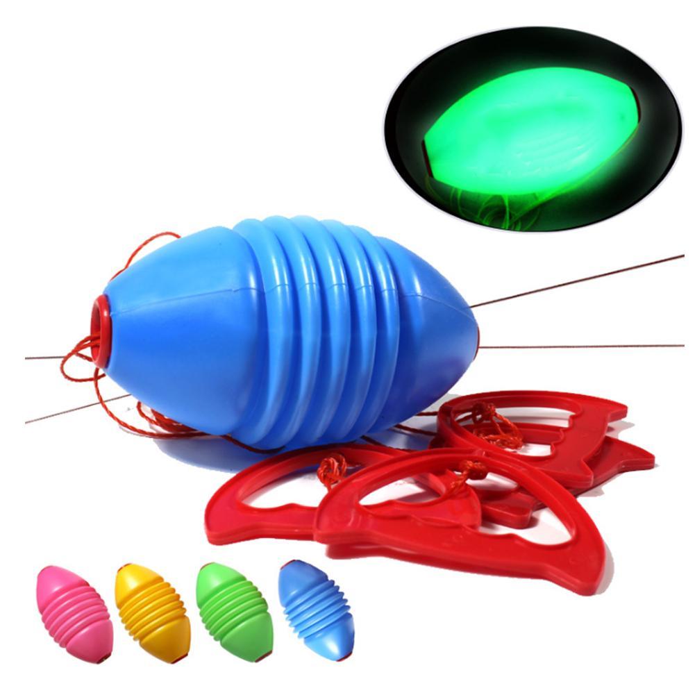 Забавная интерактивная двойная комбинация тянуть игрушка Спорт на открытом воздухе челнок мяч PE игра 18 см подарок образовательные мероприятия Родитель Ребенок