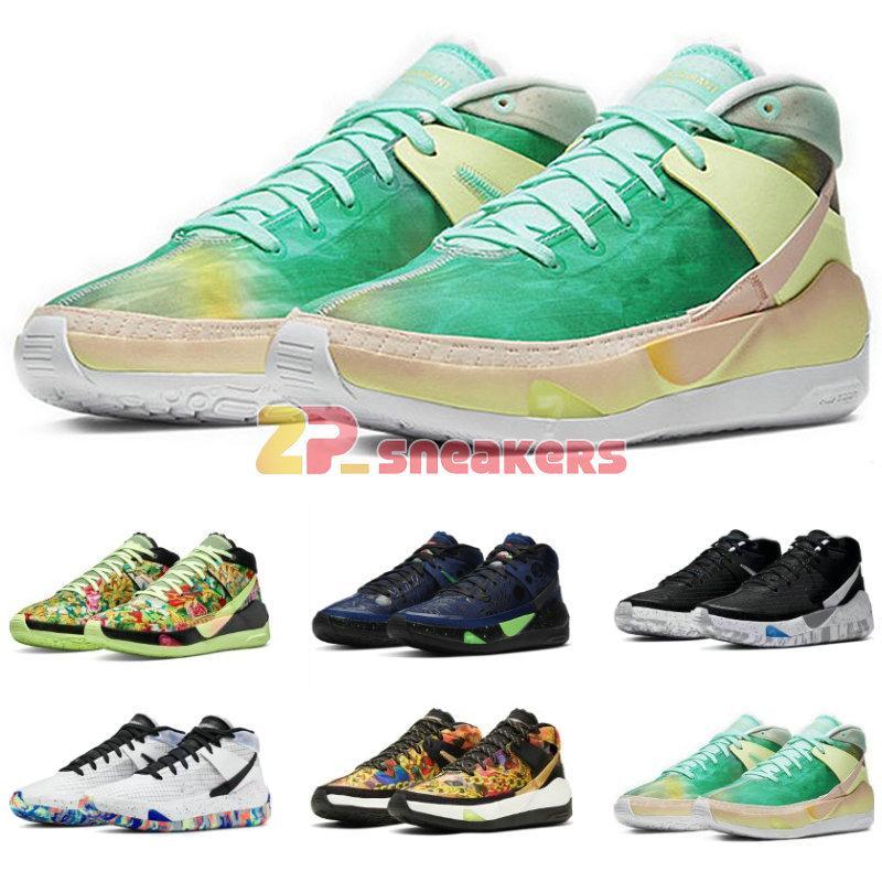 KD13 كيفن دورانت XIII KD13 الدعاية كوكب أحذية الأطواق الرئيسية فريق كرة السلة للرجال البرد KD 13 سبور للبيع الحجم us7-12