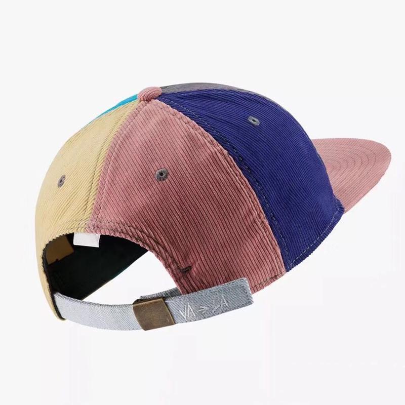 1/97 Sean Cappello Wotherspoon ricamo logo arcobaleno Cap lusso Pesca Via Esterni Cap Fashion Casual Cappello ESTATE HFYMMZ005