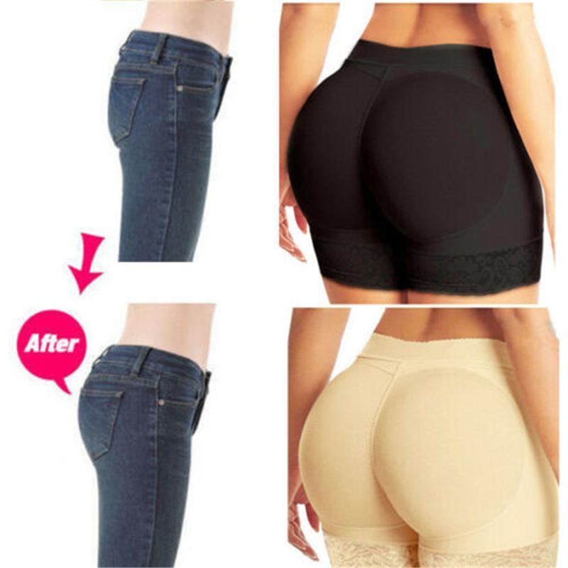 النساء بات الغنيمة رافع المشكل الجسم للنساء بالاضافة الى حجم Shapewear همية هوب بوم الرفع سروال سراويل الأرداف محسن سلامة قصيرة
