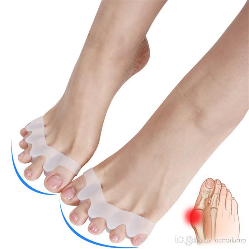 Silicone Foot Care Gel Bunion Protector Toe Separators Straightener Spreader Correctors Hallux Valgus Correction