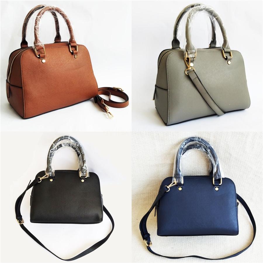 All'ingrosso coreano di stile di lusso del sacchetto del progettista di cuoio delle donne dell'unità di elaborazione borsa delle donne della Tote Bags a forma di conchiglia Tote Large Messenger Bags # 195