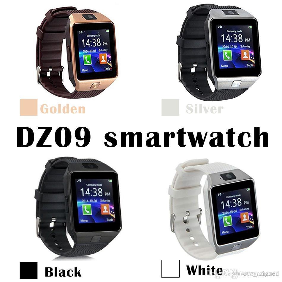 DZ09 Android GT08 U8 A1 Samsung watchs smart SIM montre téléphone mobile intelligent peut enregistrer l'état de veille intelligente montre