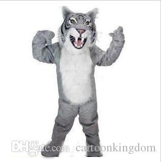 2018 Sıcak satış profesyonel özel bengal kaplan kedi maskot kafa kostüm suit cadılar bayramı