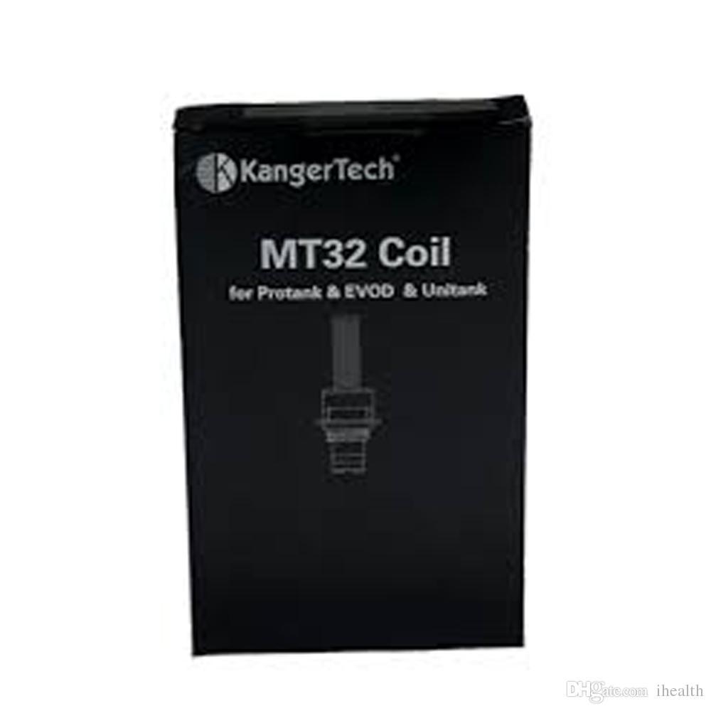 Kanger MT32 катушки 1.5 1.8 2.2 2.5 ohm катушка для мини Protank 2 EVOD Unitank атомайзер 100% оригинал