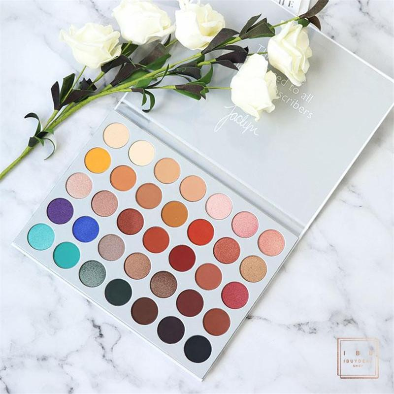 MorpheBeauty 35 Farben Lidschatten-Palette Beeindruckt Sie Lidschatten Makeup matte Schimmer Lidschatten-Palette Professionelle Marke Kosmetik