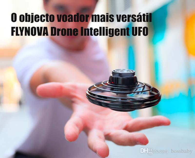 FlyNova UFO Fidget Spinner O Objecto Voador Mais versátil Brinquedos Brinquedo Voador para Crianças Boomerang LED Luzes Coloridas 06