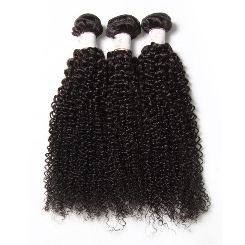 جميلة الأفرو غريب مجعد الشعر لأفريقيا امرأة 3 حزم الكثير الهندي بيرو البرازيلي العذراء مجعد الشعر ملحقات البوهيمي حليقة نسج