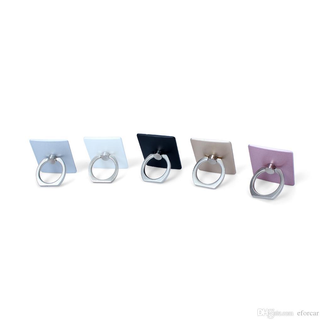Anel de telefone celular suporte suporte de anel de dedo de 360 ° de rotação suporte do telefone aderência anel compatível com todos os tipos de telefone celular