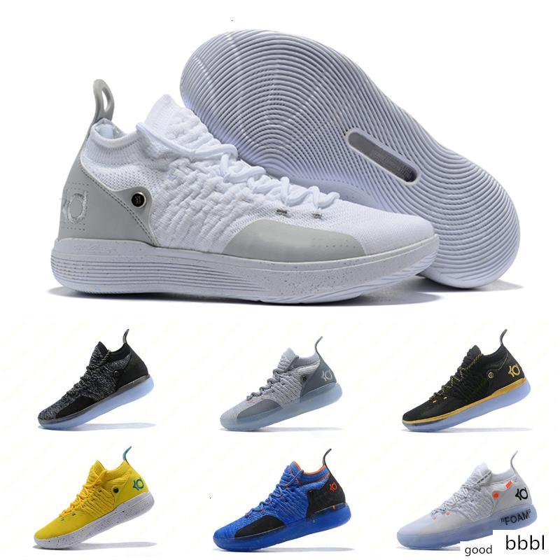 حار تكبير كيفن دورانت KD 11 أحذية كرة السلة متعدد الألوان KD11 11S أرقام BHM كوخ الإسكيمو الرجال الذكرى جامعة X النخبة منتصف الرياضة أحذية رياضية