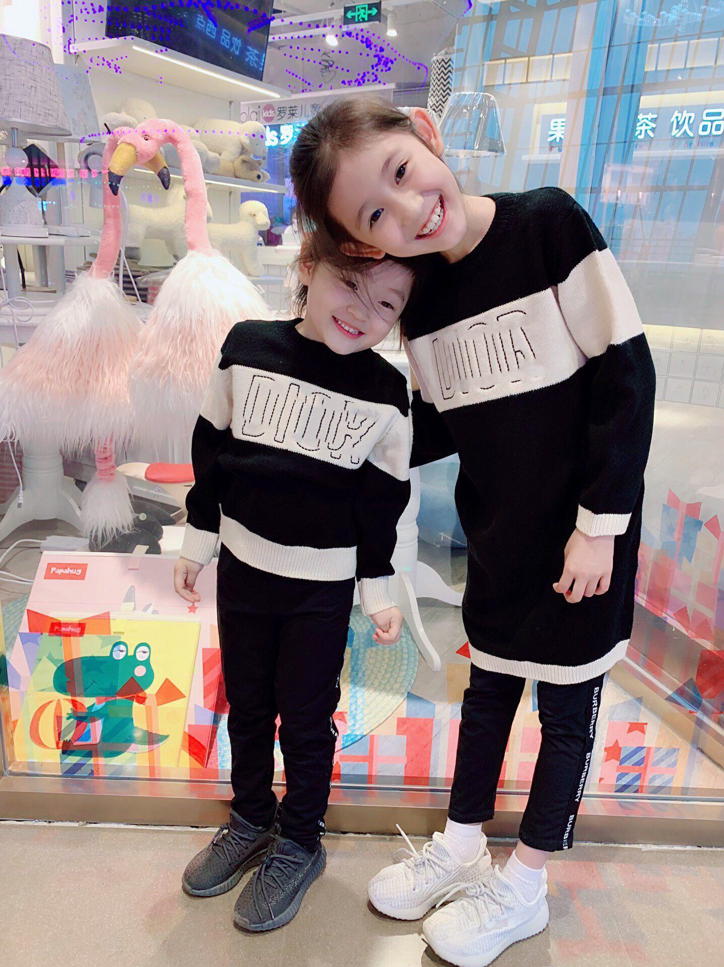 طفل حرية الملاحة جودة عالية الخريف فصل الشتاء البلوزات الفتيان والفتيات البلوفرات سترة اللباس ل2-12 سنة