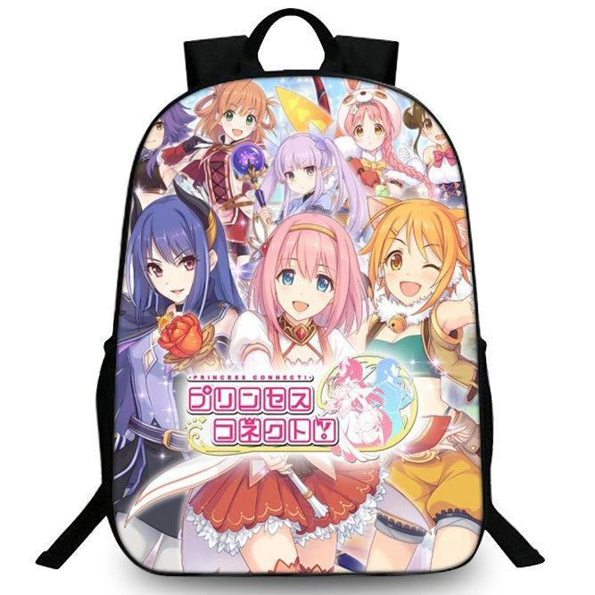 Princess pack jour photo joueur Mimi Cygames jeu sagesse sac d'école Imprimer packsack Quality Sport daypack extérieure