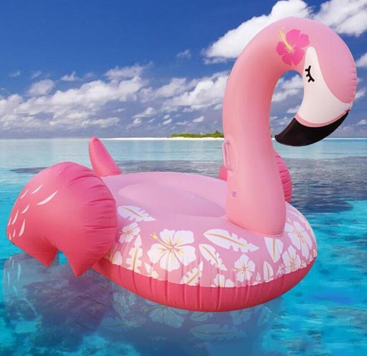 2019 nuovi fenicottero bellezza carino materasso di sonno gigante cigno animale galleggia tubi dell'acqua di vendita calda nuotare estate PVC gonfiabile spiaggia giocattolo galleggiante