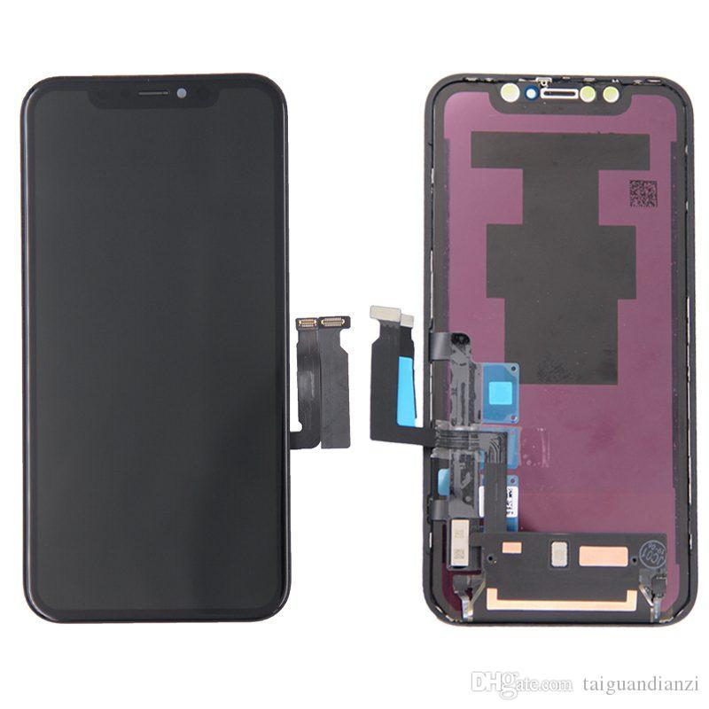 Iphone x lcd xs dokunmatik ekran için hiçbir ölü piksel oled oem paneli meclisi iphone xs max xr için lcd ekran yedek yedek parça