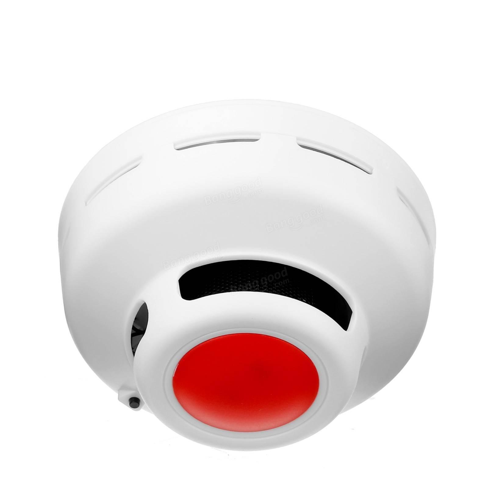 أول أكسيد الكربون + الدخان الانذار صوتية-البصري إنذار مؤشر LED إنذار