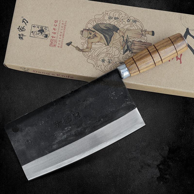 Envío gratuito Deng cuchillos hechos a mano Chef Profesional cuchillo de cocina rebanada de la carne vegetal multifuncionales cuchillos forjados Cuchillos