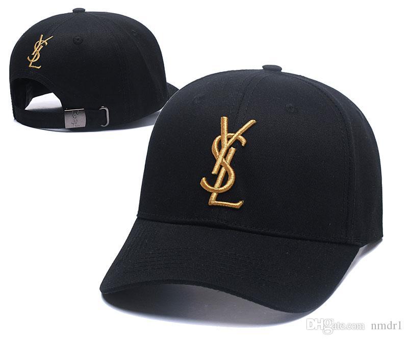 ترف النساء الرجال العلامة التجارية مصمم الصيف نمط عارضة كاب التطريز رسائل اللطخة إنهاء القبعات متعدد الألوان قابل للتعديل القطن قبعات البيسبول