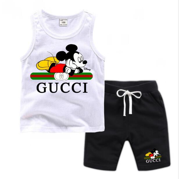 Baby Boys Girls Tracksuits Kids Luxury design brand Tracksuits Kids Coats Pants 2 pcs/sets kids Clothing Clothing Sets Hot Sale 2-7T