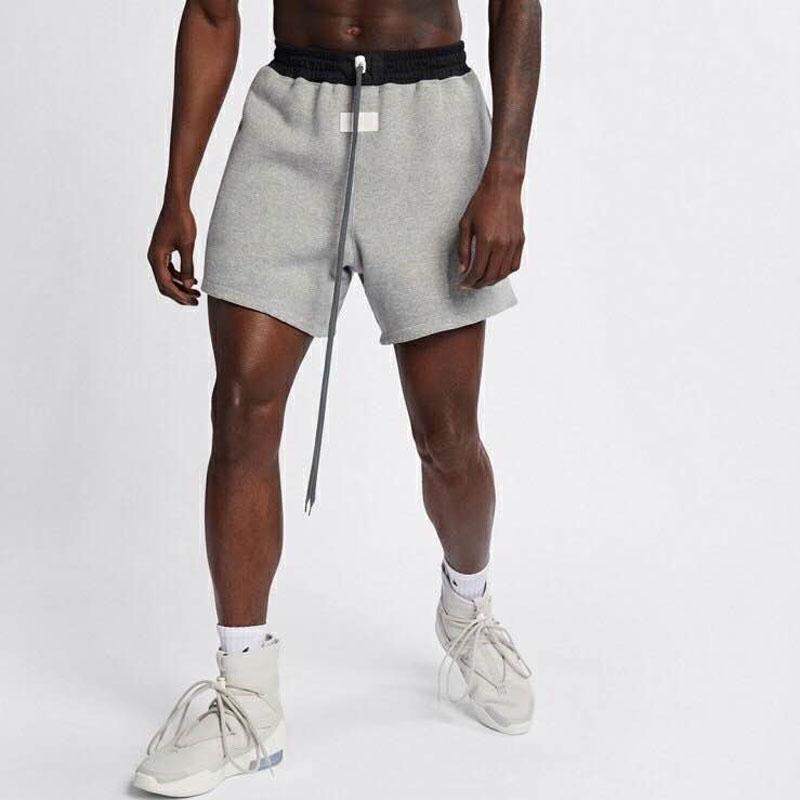Vente chaude 20SS double face Porter taille élastique Shorts Basketball Survêtement Pantalons Rue Outdoor Sport Pantalons courts Drawstring Respirant