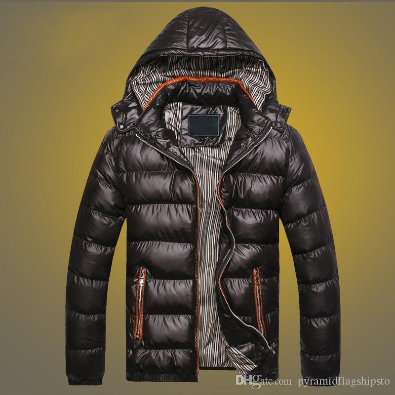 giacca invernale moda maschile di velluto spessore caldo parka uomini 5 colori outwear selvatici personalità cotone casuale degli uomini incappucciati