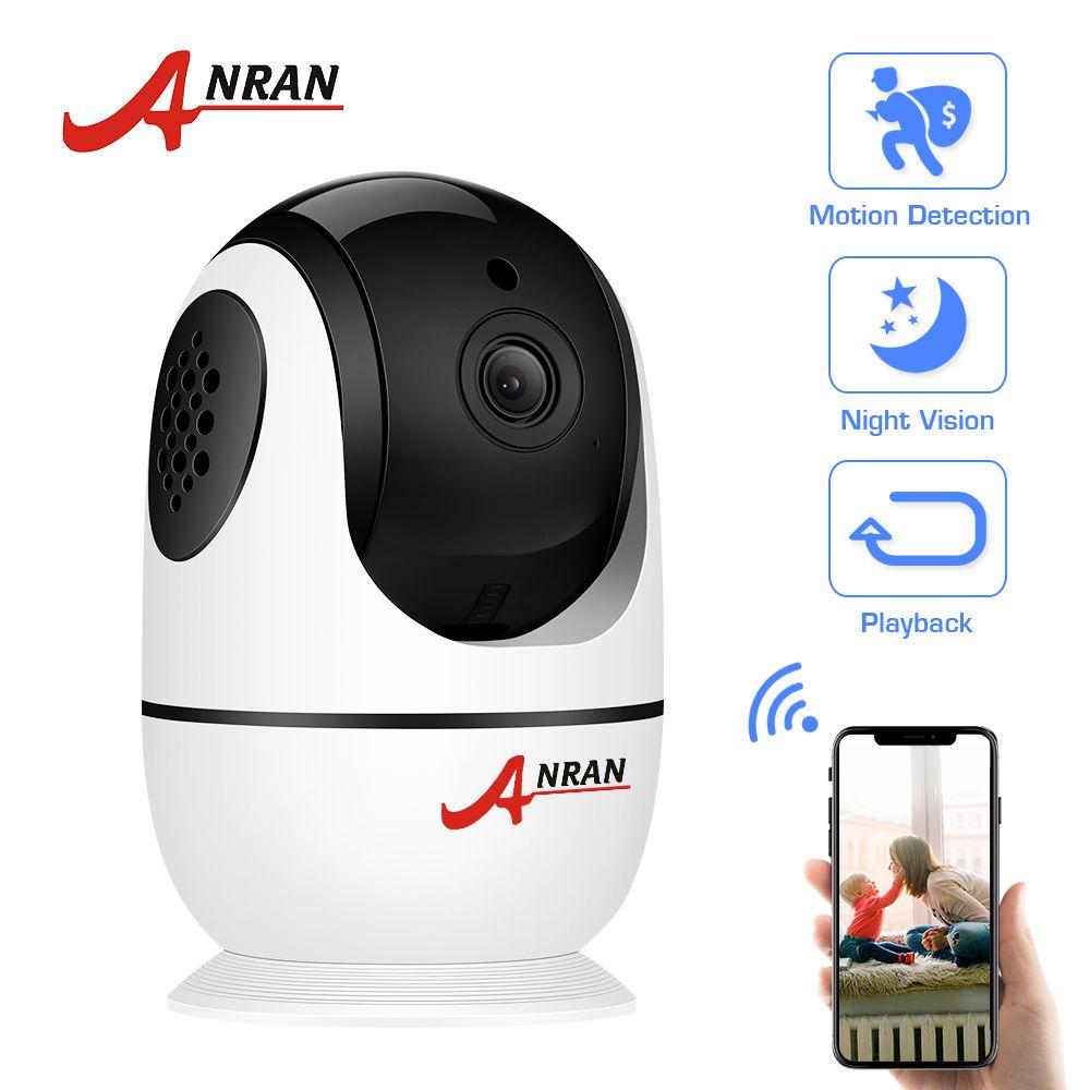 ANRAN 1080P IP Camera Wireless Home Security Camera Two-way Audio Surveillance Camera Wifi Night Vision CCTV