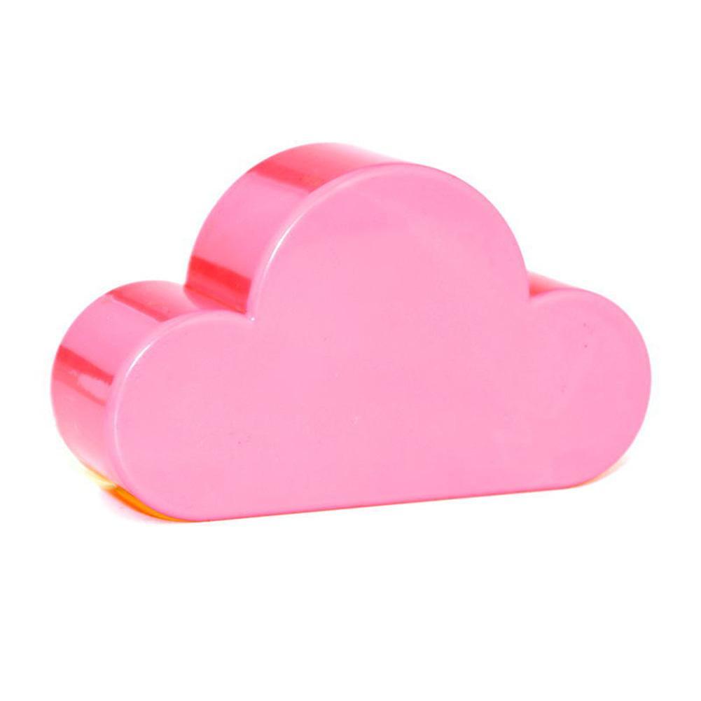 Yeni Geliş Sevimli Anahtarlık Yaratıcı Ev Depolama Anahtar Tutucu Beyaz Bulut Şekli Manyetik Anahtar Tutucu Mıknatıslar Anahtarlık #