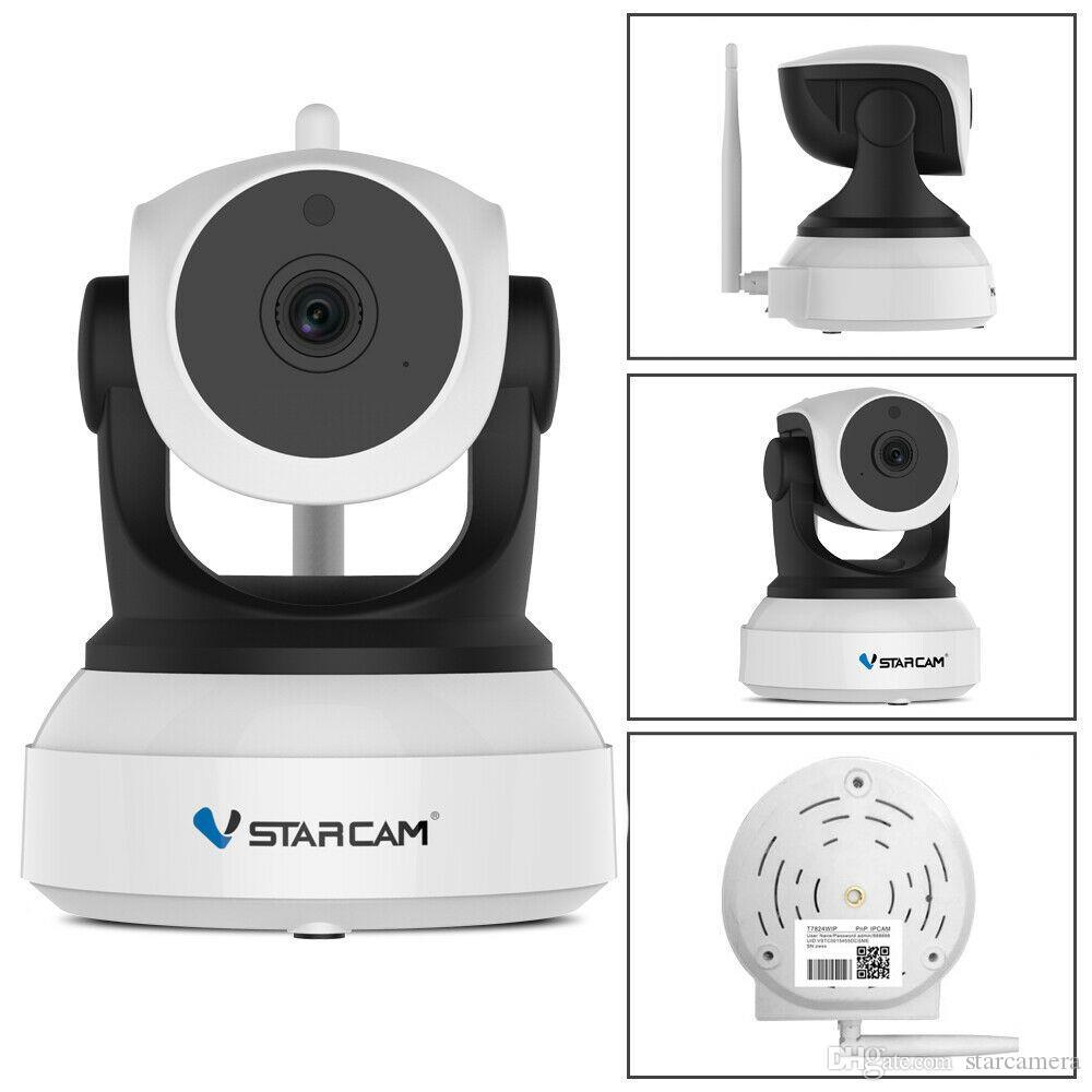 Vstarcam C7824WIP 720P IR Night vision Wifi HD Indoor camera Pan Tilt Video System Home Security IP Camera