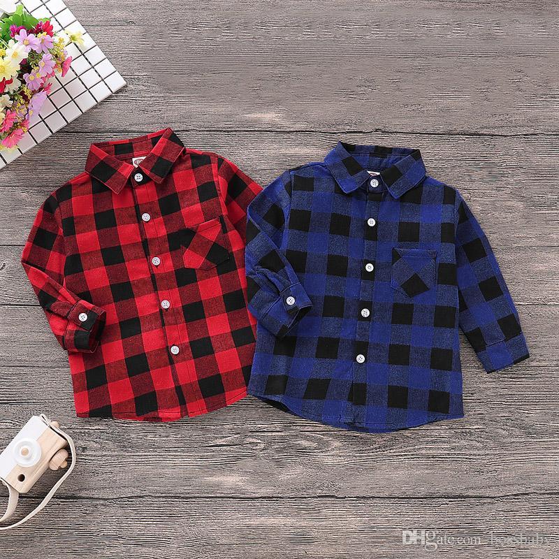 Kinder-T-Shirts Baby-Revers-Tops Kinder Freizeit Outfits Kleidung Kleinkind-Baby-Herbst warmen Mantel 06