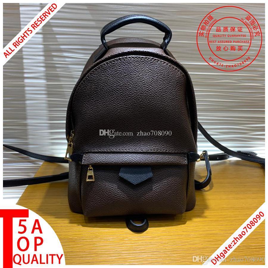 Tasarımcı sırt çantası kadın omuz çantası XLOL Palm Springs gerçek deri sırt çantası kadın kutu B010 ile dişi Okul çantası Tasarımcı cüzdan haversack