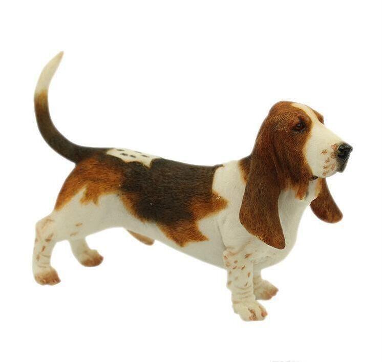 الباسط كلب صيد كلب تمثال - الدائمة جرو النحت 6 بوصات الباسط كلب الصيد تمثال الكلب لمحبي الكلاب