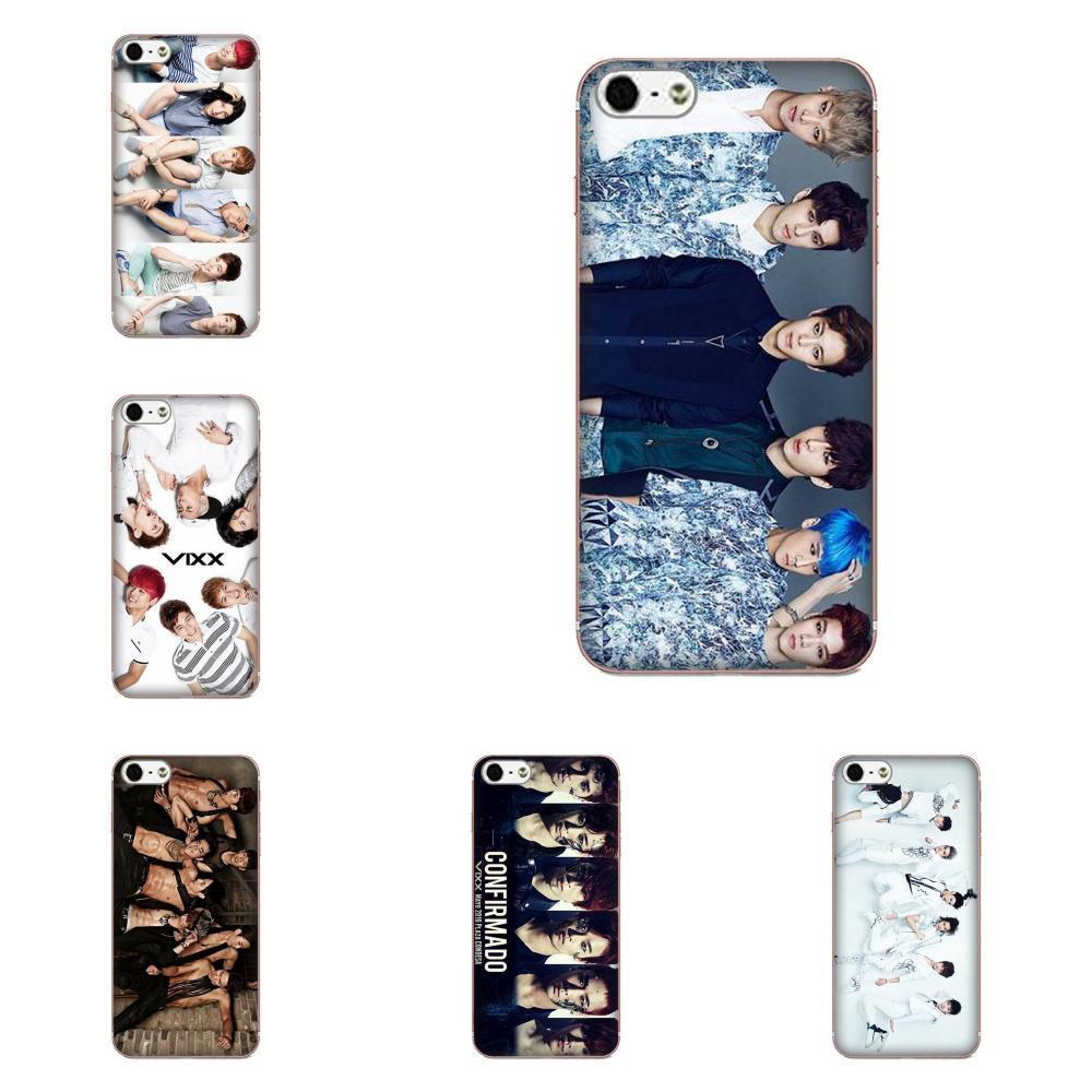 Custom For Sony Xperia Z Z1 Z2 Z3 Z4 Z5 compact Mini M2 M4 M5 T3 E3 E5 XA XA1 XZ Premium Soft Cell Phone Case Cover Vixx Kpop