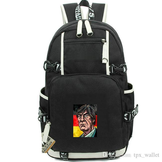 Joachim Loew day pack Hot sale football daypack Soccer schoolbag Best packsack Laptop rucksack Sport school bag Out door backpack