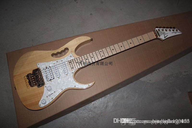 Ücretsiz nakliye RG SERİSİ İmza beyaz Elektro Gitar Elektro Gitar DiMarzio pikap Made in Japan