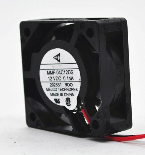 1PCS MITSUBISHI MMF-04C12DS-RO0 DC12V 0.14A 2 핀 인버터 냉각 팬