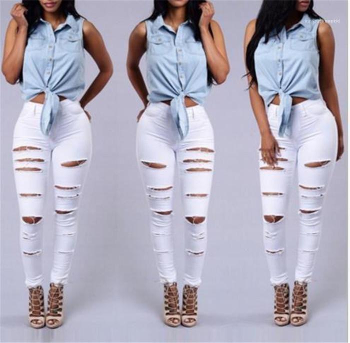 Black Female Clothing Summer Auutmn Casual Apparel Womens Hole Designer Fashion Jenas Zipper Slim Solid Color