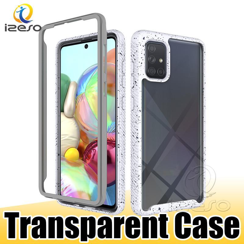 For Samsung S21 Ultra Note 20 A72 5G A22 A21S LG Stylo 7 5G K53 Designer Phone Back Case Candy Edge Cover izeso