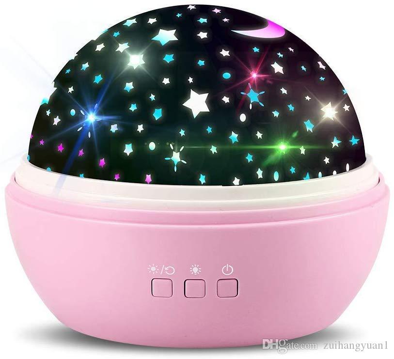 360 Rotierenden Stern Projektor Nachtlicht für Kinder Baby Mädchen für Schlafzimmer Kinderzimmer Decke beste Geburtstag Valentinstag Geschenke für Sie