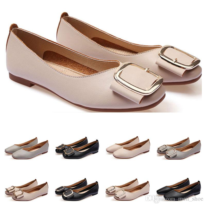 Cheap Ladies Flat Shoe Lager Size 33 43